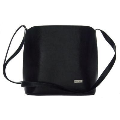 VIA55 1202 kék női rostbőr táska