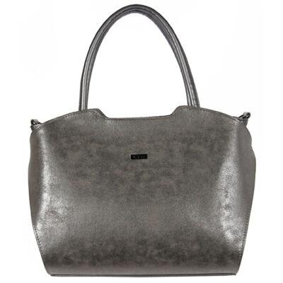 VIA 55 1360 ezust női rostbőr táska
