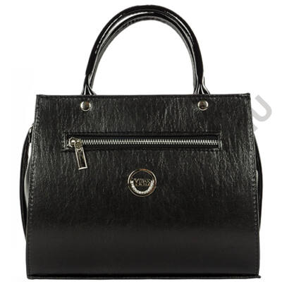 VIA 55 1366 fekete női táska eleje