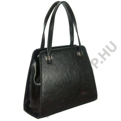 VIA55 1430 fekete rostbőr táska