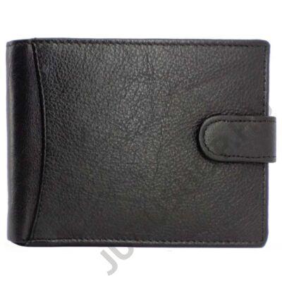 364061 fekete bőr férfi pénztárca eleje