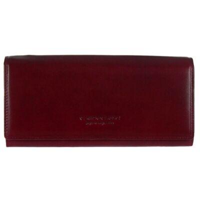 Cefiro xh2001-3166-3a bordó bőr pénztárca