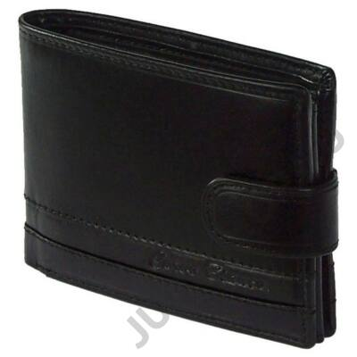 Corvo B 1021/t fekete bőr pénztárca