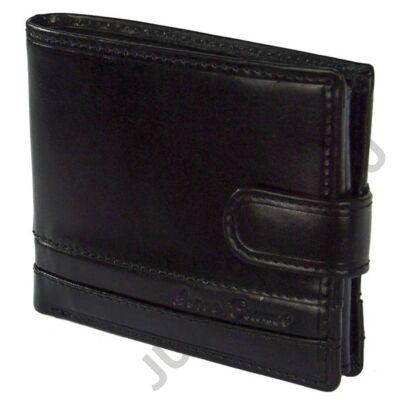 Corvo B 1054/t fekete bőr pénztárca