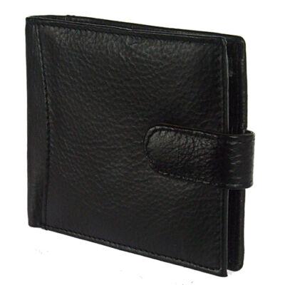 102 L fekete bőr férfi pénztárca