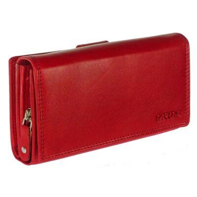Farkas 16002 piros bőr pénztárca