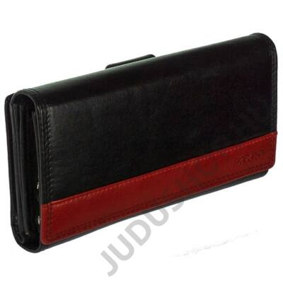 Farkas 386722 fekete bőr pénztárca