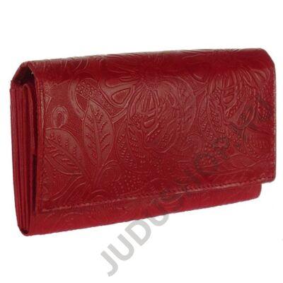 Farkas 8670-4-2 piros női bőr pénztárca