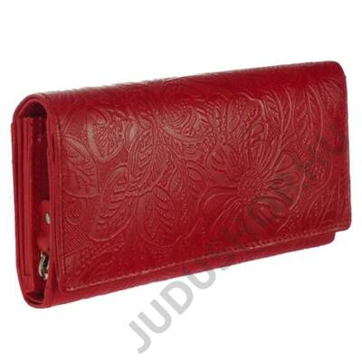 Farkas 8672-4-2 piros női bőr pénztárca