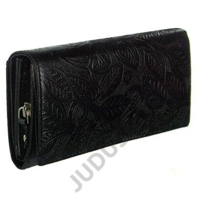 Farkas 8672-8-2 fekete női bőr pénztárca