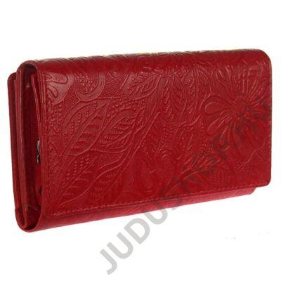 Farkas 8674-4-2 piros bőr pénztárca