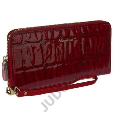 Fuerdanni 7070 piros bőr pénztárca