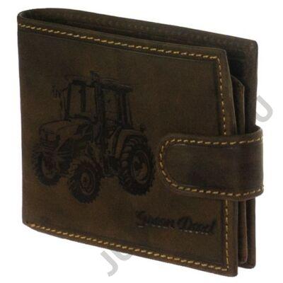 Traktoros 09/t bőr pénztárca