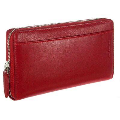 LaScala 1334 piros bőr pénztárca