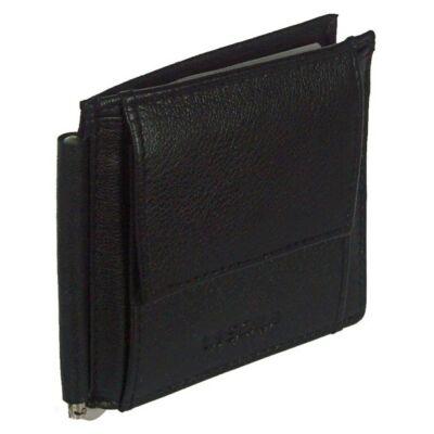 Lascala dg91 fekete dolláros bőr pénztárca