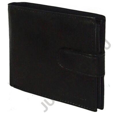 LaScala dk50 fekete bőr pénztárca