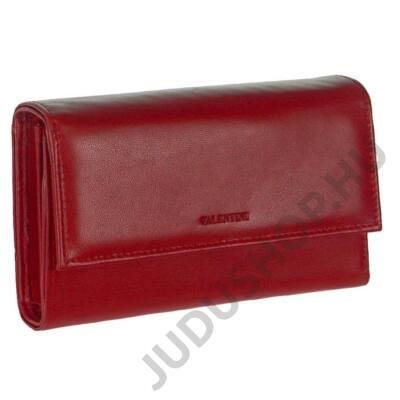 Valentini 306-231 piros bőr pénztárca