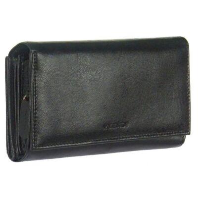Valentini 306-155 fekete bőr pénztárca