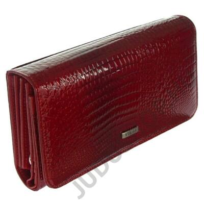 VIA 55 V-1017-rs piros lakkbőr pénztárca