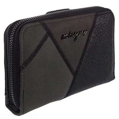 99912 fekete-szürke pénztárca