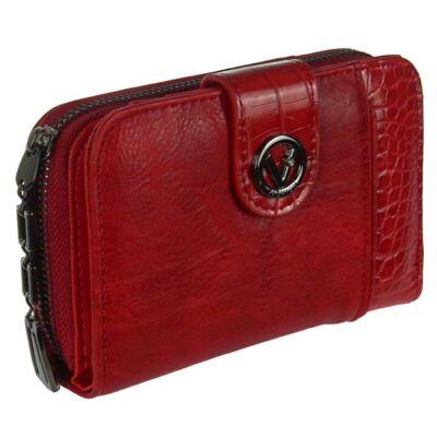 c-200 piros műbőr pénztárca