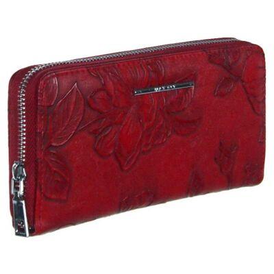 Mf 1812-10 piros műbőr pénztárca