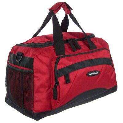 BT 8350 piros-fekete utazó táska